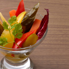 京野菜と季節の野菜のピクルス