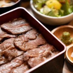 【数量限定】熟成和牛の贅沢ステーキ重 極み